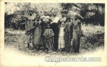 afr001496 - in the bush African Nude Post Card Post Card