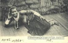 afr001499 - A Betrothed Girl African Nude Post Card Post Card