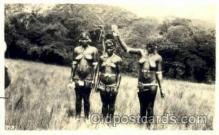 afr001519 - Non Postcard Backing, Zulu  African Nude Post Card Post Card