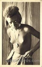 afr001542 - Donna Bilena African Nude Nudes Postcard Post Card