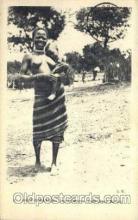 afr001551 - Haut Oubangui African Nude Nudes Postcard Post Card