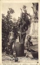 afr001552 - Senegal African Nude Nudes Postcard Post Card
