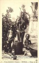 afr001553 - Senegal African Nude Nudes Postcard Post Card