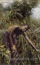 afr001557 - Zulu Maiden African Nude Nudes Postcard Post Card