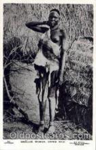 afr001562 - Shulluk Woamn, Upper Nile African Nude Nudes Postcard Post Card