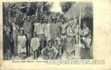 afr001564 - Grand Cap Mount, Mahfa River African Nude Post Card Post Card