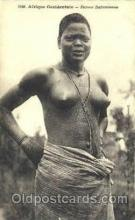afr001566 - Femme Dahomeenne African Nude Post Card Post Card