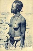 afr001568 - Femme Senegalaise a Dakar African Nude Post Card Post Card