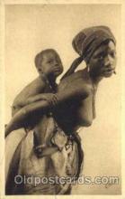 afr001570 - #199 Dakar (Senegal) Maternite African Nude Post Card Post Card