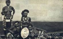 afr001571 - Native S. African Woman African Nude Post Card Post Card