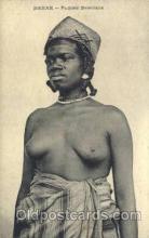 afr001572 - Dakar - Femme Bambara African Nude Post Card Post Card