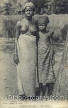 afr001574 - Jardin D'acclimatation African Nude Post Card Post Card