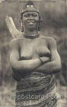 afr001582 - Fille Foulah African Nude Post Card Post Card