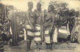 afr001584 - Habitants des Lagunes African Nude Post Card Post Card