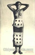 afr001586 - Madagascar Femme Antaimorona African Nude Post Card Post Card