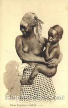 afr001588 - Femme Senegalaise a Dakar African Nude Post Card Post Card