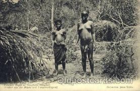 afr001589 - Femmes Bayas et Yanghere (Sangha) African Nude Post Card Post Card