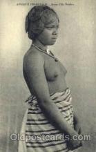 afr001590 - Jeunes Fille Betsilco African Nude Post Card Post Card