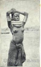 afr001592 - African Nude Post Card Post Card