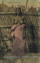 afr001594 - Senegal - Type Toucouleur African Nude Post Card Post Card