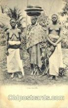 afr001598 - Une Famille African Nude Post Card Post Card