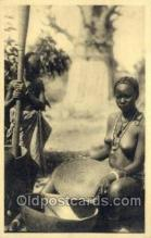 afr001604 - Afrique Occidentale Francaise African Nude Nudes, Old Vintage Postcard Post Card