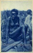 afr001610 - Costumi Africa Orientale African Nude Nudes, Old Vintage Postcard Post Card