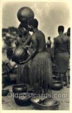 afr001615 - Lafrique qui disarait African Nude Nudes, Old Vintage Postcard Post Card