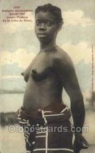 afr001616 - Jeune Femme De La Cote De Kvoo African Nude Nudes, Old Vintage Postcard Post Card