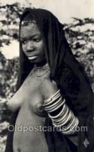 afr001617 - Region De Loango  African Nude Nudes, Old Vintage Postcard Post Card