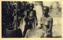 afr001618 - Afrique Occidentale Francaise African Nude Nudes, Old Vintage Postcard Post Card