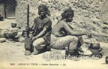 afr001626 - Scenes et types  African Nude Nudes, Old Vintage Postcard Post Card