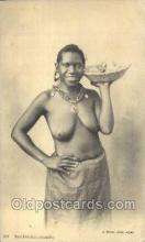 afr001634 - Sandwichs: Chauds African Nude Nudes Postcard Post Card