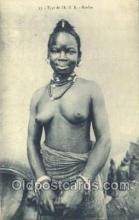 afr001636 - Type de l'A.O.F. African Nude Nudes Postcard Post Card