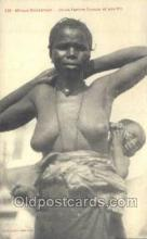 afr001639 - Afrique Occidentale   African Nude Nudes Postcard Post Card