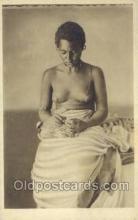 afr001642 - Costumi Africa Orientale African Nude Nudes Postcard Post Card