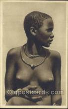 afr001644 - Costumi Africa Orientale African Nude Nudes Postcard Post Card
