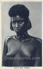afr001645 - Costumi Africa Orientale African Nude Nudes Postcard Post Card