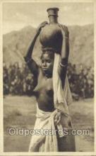 afr001648 - Costumi Africa Orientale African Nude Nudes Postcard Post Card