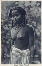 afr001649 - Costumi Africa Orientale African Nude Nudes Postcard Post Card