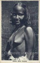 afr001650 - Costumi Africa Orientale African Nude Nudes Postcard Post Card