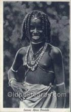 afr001651 - Costumi Africa Orientale African Nude Nudes Postcard Post Card