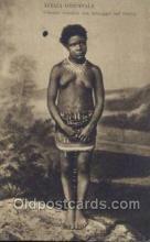 afr001652 - Africa Orientale African Nude Nudes Postcard Post Card