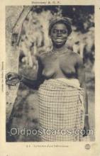 afr001655 - Dahomey A.O.F. African Nude Nudes Postcard Post Card