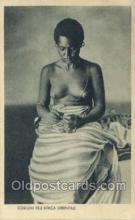 afr001658 - Costumi Africa Orientale African Nude Nudes Postcard Post Card