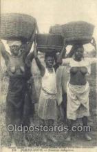 afr001660 - Porto Movo African Nude Nudes Postcard Post Card