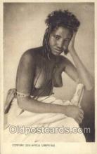 afr001664 - Costumi Africa Orientale African Nude Nudes Postcard Post Card