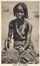 afr001665 - Costumi Africa Orientale African Nude Nudes Postcard Post Card