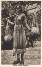 afr001666 - Costumi Africa Orientale African Nude Nudes Postcard Post Card