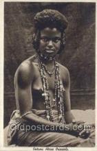 afr001667 - Costumi Africa Orientale African Nude Nudes Postcard Post Card